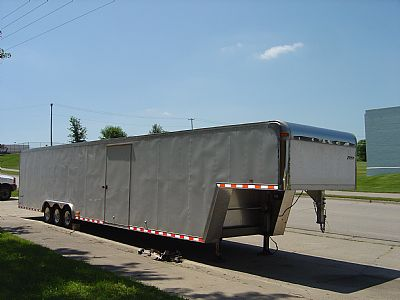 2000 Pace Enclosed Race trailer